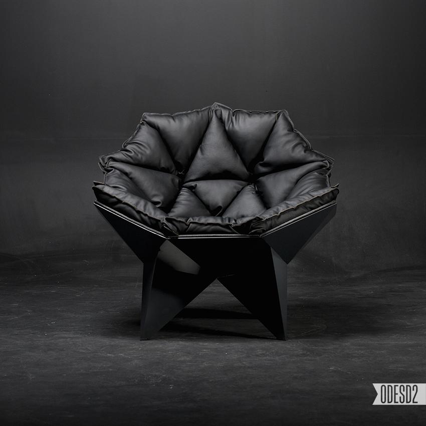 Q1 Moderner Design Sessel Odesd2 Skizze Gestalt