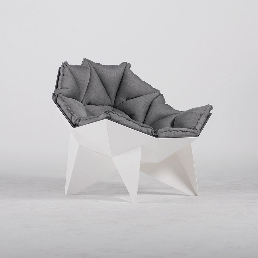 Q1 lounge chair design bureau odesd2 for Modern design lounge chairs