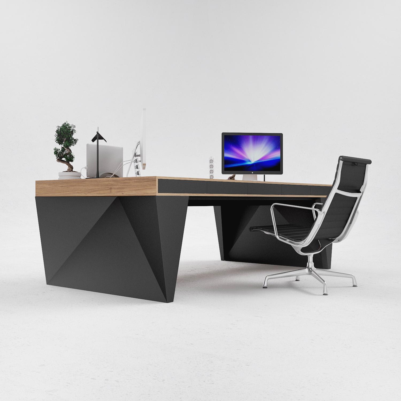Desk Furniture Design: OS1 Executive Desk :: Design Bureau ODESD2