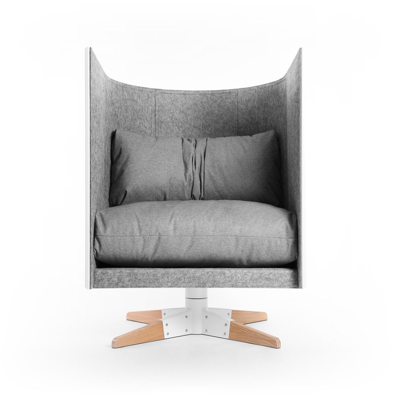 Pleasant V1 Rotate Lounge Chair Design Bureau Odesd2 Bralicious Painted Fabric Chair Ideas Braliciousco